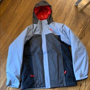 Kids extra large two layer north face jacket